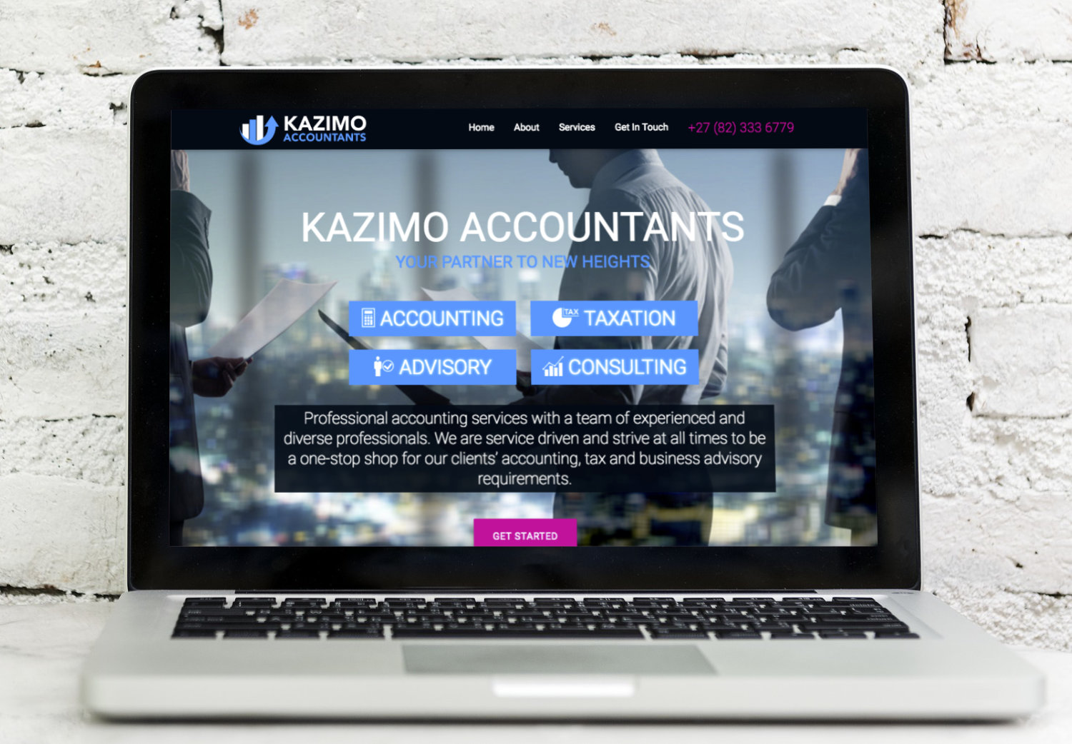 Website - Kazimo Accountants