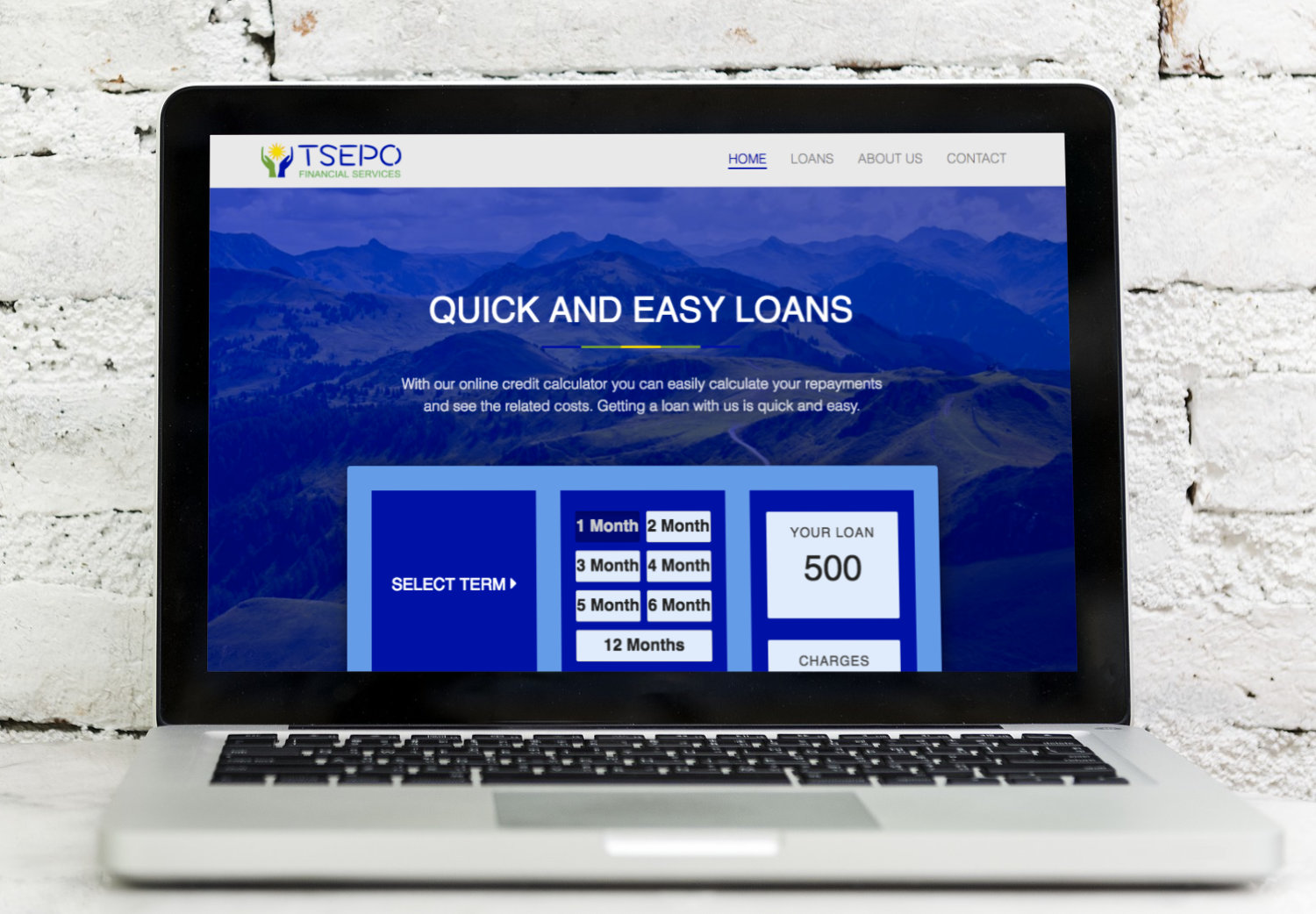 Website - Tsepo Financial Services